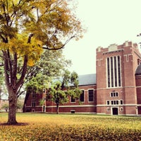 Photo taken at Clark University by Jonathan E. on 10/17/2012