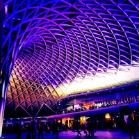 Photo taken at London King's Cross Railway Station (KGX) by Sand E. on 10/21/2012