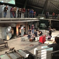 Photo taken at The Hot Shop at the Museum Of Glass by Tyler H. on 12/30/2012