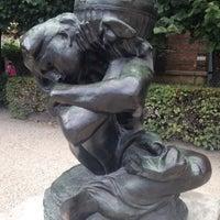 Photo taken at Jardin du Musée Rodin by Martial B. on 9/14/2014
