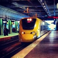 Photo taken at Arlanda Express (Stockholm C) by Simon S. on 3/10/2013