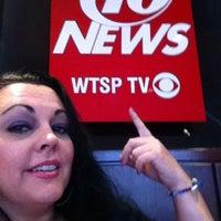 Photo taken at WTSP Channel 10 by Bobbie K. on 4/18/2014