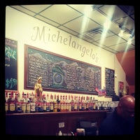 Photo taken at Michelangelo's Coffee House by Michael D. on 6/29/2013