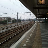 Photo taken at Station Amsterdam Muiderpoort by Herwin T. on 2/23/2013