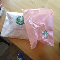 Photo taken at Starbucks by Ellyn H. on 3/1/2014