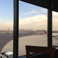 Photo taken at Delta Sky Club by Chris H. on 2/13/2013