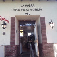 Photo taken at La Habra Historical Museum by YourHeadaSplode414 on 8/10/2016