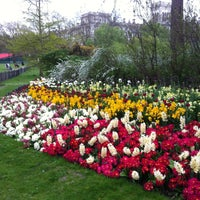 Photo taken at St James's Park by Pavel K. on 5/5/2013