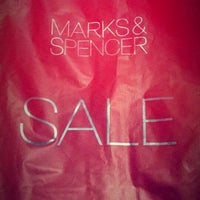 Photo taken at Marks & Spencer by クリスティン c. on 1/2/2014