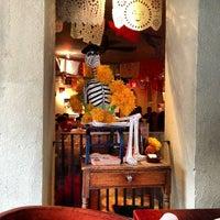 Photo taken at La Palapa by Nick D. on 10/28/2012