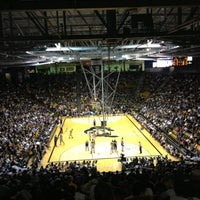 Photo taken at Coors Events Center by Jennifer C. on 1/27/2013