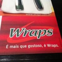 Photo taken at Wraps by Luiz T. on 11/24/2012