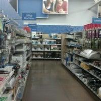 Photo taken at Walmart Supercenter by William C. on 10/28/2012