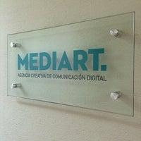 Photo taken at Mediart - Diseño y Comunicación by Miguel S. on 2/13/2014