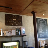 Photo taken at Catalina Coffee by Greg N. on 2/17/2013