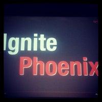 Photo taken at Ignite Phoenix by Nick B. on 10/18/2013