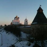 Photo taken at Псков / Pskov by Максим Г. on 3/9/2013