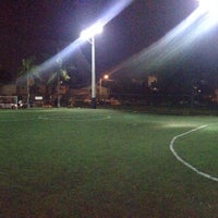 Photo taken at Downtown Soccer by Juan P. on 4/26/2014