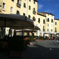 Photo taken at Piccola Osteria Lucca Drento by Adriana G. on 11/5/2012