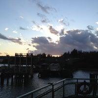 Photo taken at Bainbridge Island Ferry Terminal by Paul B. on 4/30/2013