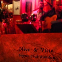 Photo taken at Olive & Vine by Vino V. on 2/11/2013