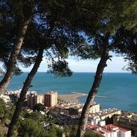 Photo taken at Hotel Parador de Málaga Gibralfaro by Rachele T. on 1/26/2013