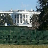 Photo taken at The White House Southeast Gate by Wellington M. on 3/30/2013