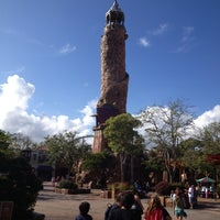 Photo taken at Islands Of Adventure Lighthouse by Juan M. on 1/10/2013