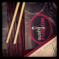 Photo taken at Sushi Fusion by Fran M. on 11/2/2012