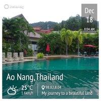 Photo taken at Timber House Resort Krabi by Nueng P. on 12/18/2013