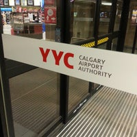 Photo taken at Calgary International Airport (YYC) by Trevor M. on 6/8/2013