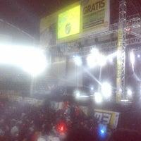 Photo taken at Sritex Arena by Jauhar T. on 6/27/2013