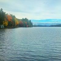 Photo taken at Highland Lake by Daniel B. on 10/7/2012