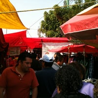 Photo taken at Tianguis San Felipe de Jesús by Joel Eduardo A. on 11/11/2012