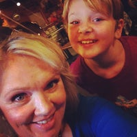 Photo taken at Huntin' Camp Bar B Q & Grill by Amy W. on 10/11/2014