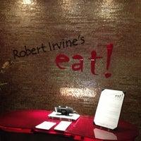 Photo taken at Robert Irvine's eat! by Gary C. on 1/20/2013