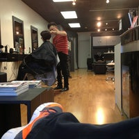 Photo taken at Andre's Hair Design by Franco P. on 2/9/2013
