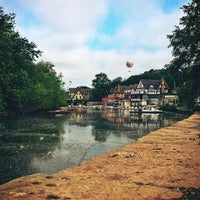 Photo taken at Boathouse Row by Andy O. on 5/21/2013