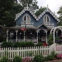 Photo taken at Martha's Vineyard Camp Meeting Association Cottages by Sabrina B. on 7/20/2014