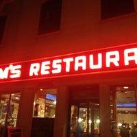 Photo taken at Tom's Restaurant by Sabrina B. on 10/27/2012