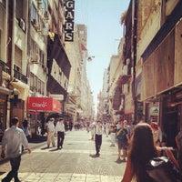 Photo taken at Peatonal Lavalle by Rodrigo M. on 12/26/2012