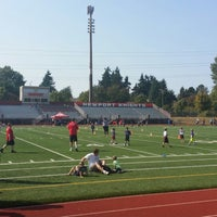 Photo taken at Newport High School by Billy A. on 9/21/2014