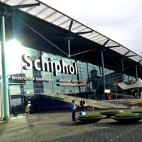 Photo taken at Amsterdam Airport Schiphol (AMS) by kaur g. on 11/11/2013