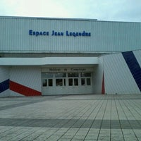 Photo taken at Espace Jean Legendre by Benoit F. on 11/9/2012