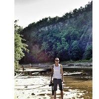 Photo taken at Taughannock Falls State Park by Julia B. on 7/10/2013