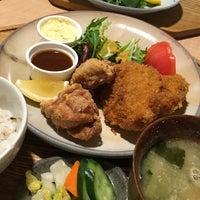 Photo taken at キッチン米一 by tetra p. on 2/25/2016