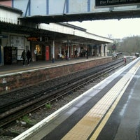Photo taken at Fareham Railway Station (FRM) by Martin L. on 2/9/2013