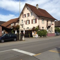 Photo taken at Restaurant Linde by Baron Gerard C. on 10/18/2012