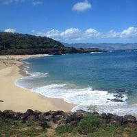 Photo taken at Waimea Bay by OahuAJ on 9/28/2013