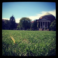 Photo taken at Syracuse University Quad by Anne Marie S. on 9/25/2012